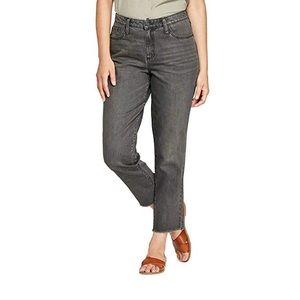 Universal Threads   High Rise Straight Jeans